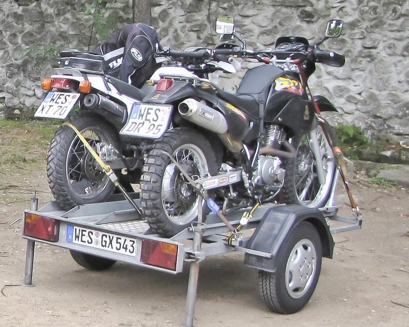 Motorradtransport - Campers-World